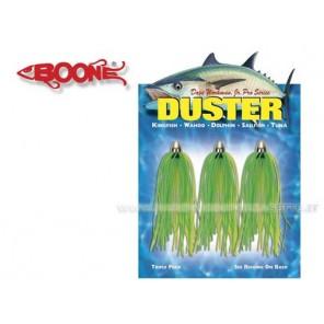 Artificiale Duster Boone Per Traina Confezione 3 Pezzi