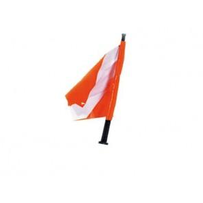 Bandiera Di Ricambio Con Asta Omersub In Pvc Per Boe