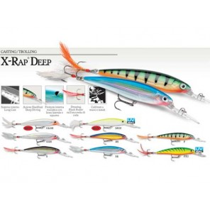 ARTIFICIALE RAPALA X RAP DEEP