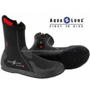 CALZARI CON SUOLA AQUALUNG 5mm ERGO BOOT SUPER ZIP