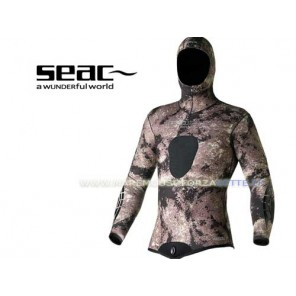 GIACCA MUTA SEACSUB PYTHON 7 MM IN NEOPRENE SPACCATO