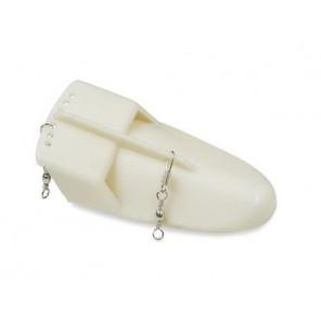 Affondatore piccolo bianco perla 12 cm