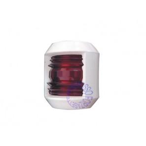 Luce di via junior rosso 112° in ABS bianco