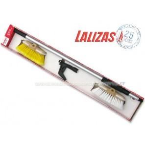 Set di pulizia spazzole con manico Lalizas