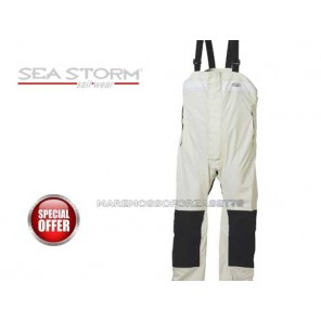 SALOPETTE CERATA SEA STORM NEW MATCH RACING TRASPIRANTE