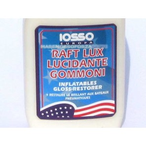PROTETTIVO LUCIDANTE PER GOMMONI RAFT LUX IOSSO 0,75 LT