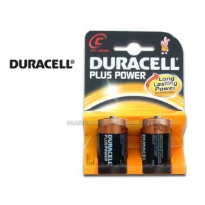 BLISTER PILE DURACELL TIPO MEZZA TORCIA C (2 PILE)
