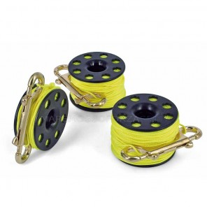 MULINELLO FINGER REEL BEST DIVERS CON MOSCHETTONE