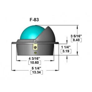 Bussola Ritchie Voyager Da Incasso F83 Mm 76