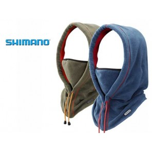 CAPPUCCIO IN PILE SHIMANO FACE MASK