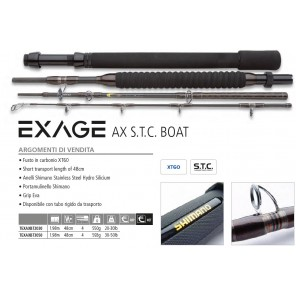 SHIMANO EXAGE AX S.T.C. BOAT