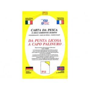 CARTA  P11 PESCA SEAWAY CAMPANIA