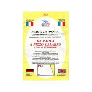 CARTA  P13 PESCA SEAWAY CALABRIA