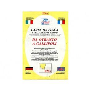 CARTA  P20/1 PESCA SEAWAY PUGLIA