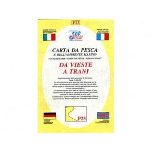 CARTA  P23 PESCA SEAWAY PUGLIA