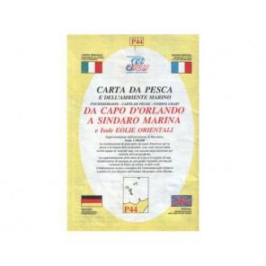 CARTA P44 PESCA SEAWAY SICILIA