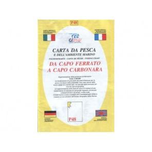 CARTA P48 PESCA SEAWAY SICILIA