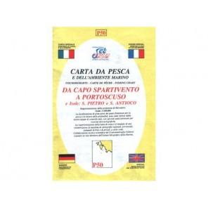 CARTA P50 PESCA SEAWAY SICILIA