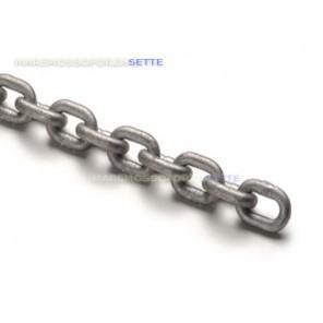 catena zincata per ancoraggio della barca