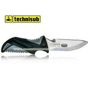 COLTELLO TECHNISUB MINI ZAK ALFA CON FODERO