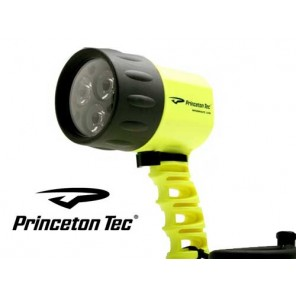 Torcia a led Priceton miniwave colore giallo
