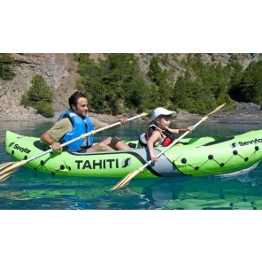 CANOA GONFIABILE KAYAK SEVYLOR TAHITI 2 POSTI PACK