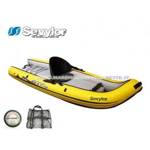 CANOA GONFIABILE SIT ON TOP SEVYLOR REEF 240 KAYAK
