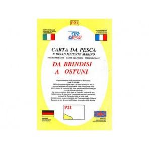 CARTA  P21 PESCA SEAWAY PUGLIA