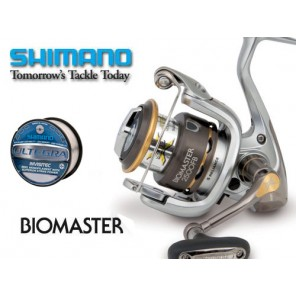 Mulinello Da Pesca Shimano Biomaster 6000 Fb Con Monofilo
