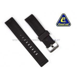 Cinturino di ricambio per orologio Cressi Sub Manta nero