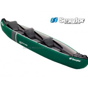 CANOA GONFIABILE SEVYLOR NEW ADVENTURE PLUS 2+1 POSTI KAYAK