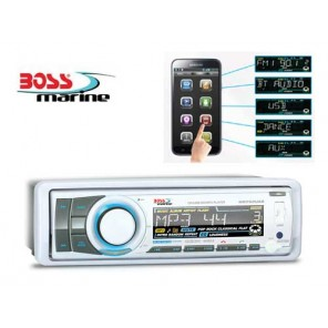 RADIO STEREO BARCA MARINIZZATO BOSS MARINE MR752UAB CD BLUETOOTH
