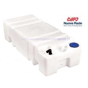 Serbatoio per acqua Sogliola 45 Lt bocchettone 45° cm 65x35x22h