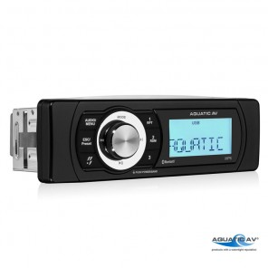 Radio stereo per barca Aquatic AV MP6 impermeabile IP65 Bluetooth