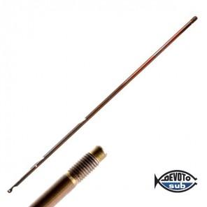 Asta filettate Inox Ø 6,5mm per fucile a gomma