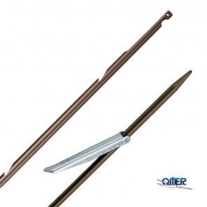 Asta per arbalete Omer Ø 6,5mm Tahitiana in acciaio inox