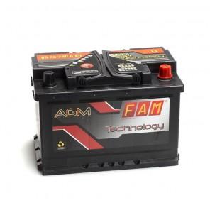 Batteria Per Barca Tipo Agm 12 Volt 80 Ampere