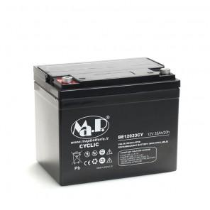 Batteria Agm Ciclica 12 Volt 35 Ampere