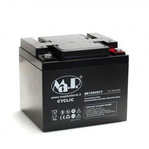 Batteria Agm Ciclica 12 Volt 45 Ampere