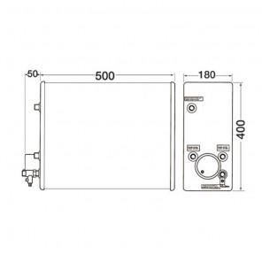 Boiler Nautico Isotemp Slim 16 Litri 750 Watt