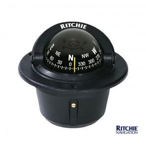 Bussola Ritchie Explorer Da Incasso F-50 Nera mm 70