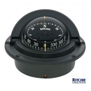 Bussola Ritchie Voyager Da Incasso F83 mm 76 Nera