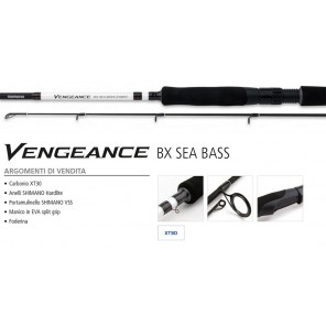 Canna Spinning Mare Shimano Vengeance BX Sea Bass