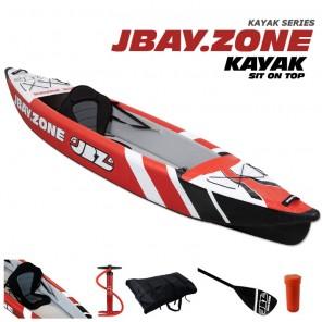 Canoa Gonfiabile Jbay.zone 330 MONO Kayak in Drop-Stitch
