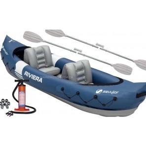 sevylor riviera canoa gonfiabile completa
