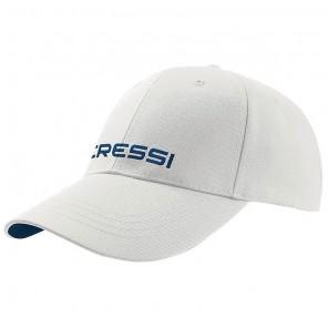 Cappello Cressi Sub con visiera Colore BIANCO