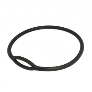 Collare tecnico per erogatore in gomma piena colore nero