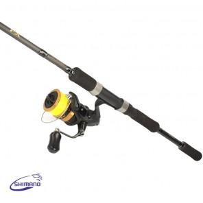 Canna da Spinning Shimano FX XT 210ML con mulinello FX 2500