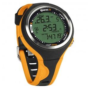 Computer sub Mares Smart APNEA Orange orologio