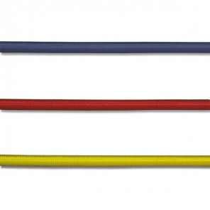 Treccia Elastica colorata 6 mm